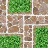 Gạch lát sân vườn 40x40 Prime 2509 vân giả cỏ