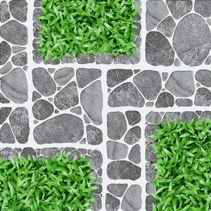 Gạch lát sân vườn 40x40 Prime 2510 vân giả cỏ