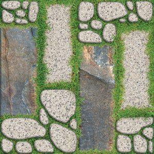 Gạch lát sân vườn 40x40 Prime 9265 vân giả cỏ