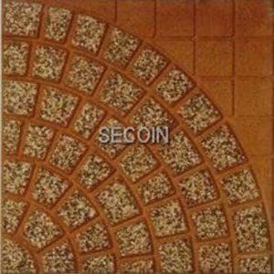 Gạch lát vỉa hè Secoin 40x40 OD-40-1012