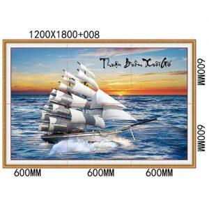 Gạch tranh trang trí HD 012 (1200x1800mm)