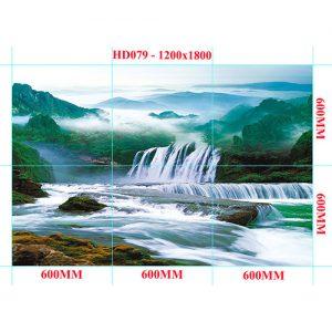Gạch tranh trang trí HD 018 (1200x1800mm)