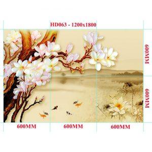 Gạch tranh trang trí HD 020 (1200x1800mm)
