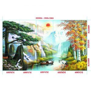 Gạch tranh trang trí HD 021 (1200x1800mm)