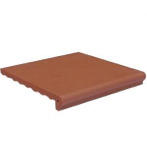 Gạch bậc thềm Hạ Long 30x30 màu đỏ đậm