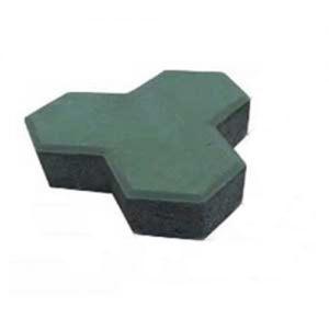 Gạch lát block vỉa hè tự chèn Terrazzo chữ Y