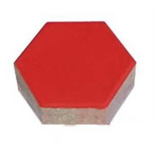 Gạch lát vỉa hè tự chèn Terrazzo hình lục giác