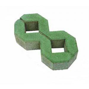 Gạch lát vỉa hè trồng cỏ 2 lỗ