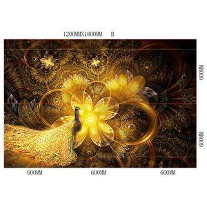 Gạch tranh trang trí HD 001 (1200x1800mm)