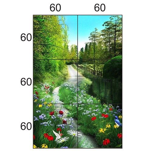Gạch tranh trang trí HD 032 (1200x1800mm)