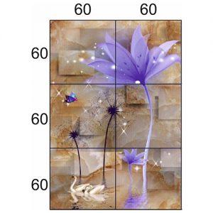 Gạch tranh trang trí HD 033 (1200x1800mm)