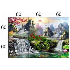 Gạch tranh trang trí HD 038 (1200x1800mm)