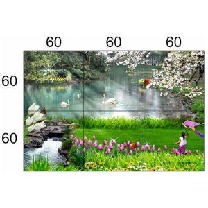 Gạch tranh trang trí HD 040 (1200x1800mm)