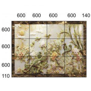 Gạch tranh trang trí HD 063 (2540x1910mm)