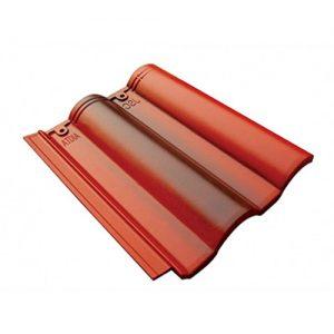 Ngói lợp màu JSC Akita 1206 đỏ đen