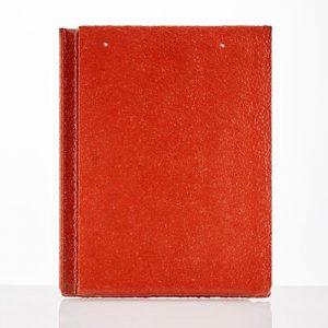 Ngói màu dạng phẳng SCG P010 Volcanic Red