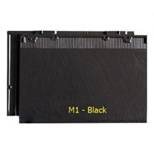 Ngói màu phẳng Fuji M1 black