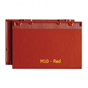 Ngói màu phẳng Fuji M10 Red