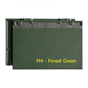 Ngói màu phẳng Fuji M4 Forest Green