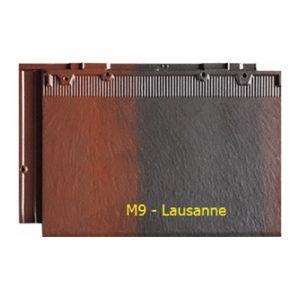 Ngói màu phẳng Fuji M9 Lausanne