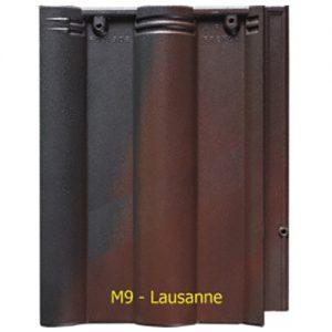 Ngói màu sóng Fuji M9 Lausanne