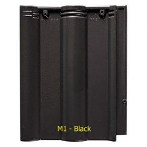 Ngói màu sóng Fuji M1 Black