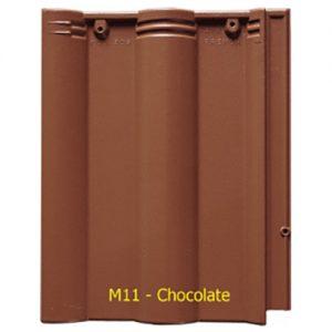 Ngói màu sóng Fuji M11 Chocolate