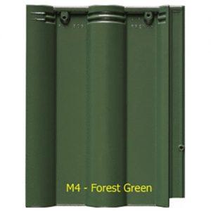 Ngói màu sóng Fuji M4 Forest Green