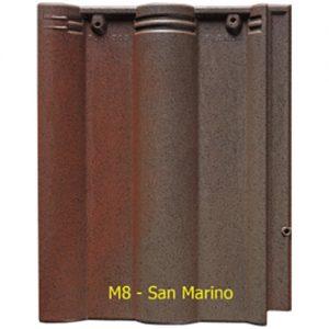 Ngói màu sóng Fuji M8 San Marino
