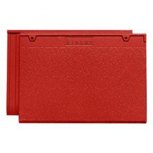 Ngói phẳng Inari P07 màu đỏ tươi