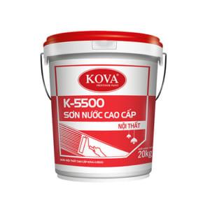 Sơn nước nội thất cao cấp KOVA K-5500