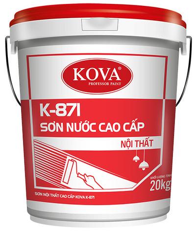 Sơn nước nội thất cao cấp KOVA K-871