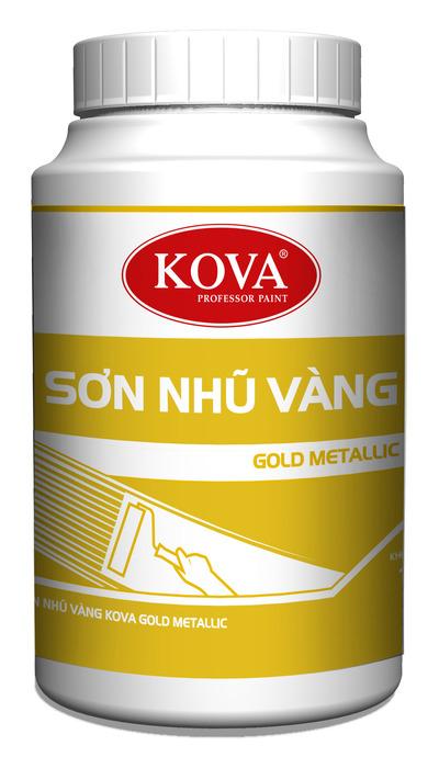Sơn nhũ vàng KOVA Metallic