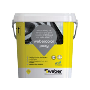 Keo dán gạch Webercolor poxy