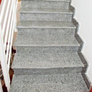 Đá cầu thang Granit đá trắng suối lau