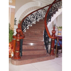 Đá cầu thang Granit đỏ sa mạc
