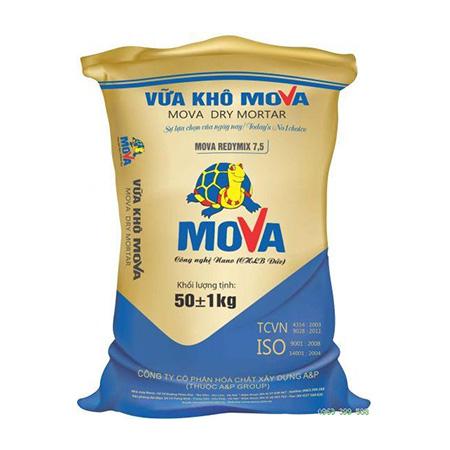 Vữa khô Mova REDYMIX 7,5 - MÁC 75