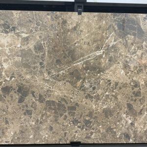 Gạch nhập khẩu Ấn Độ 60x120cm vân đá nâu Brown Hichori